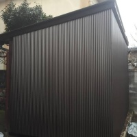 トタン小屋の造作