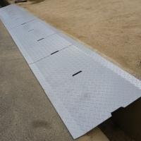 溝蓋の造作設置